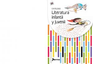 CATÁLOGO. Literatura infantil y juvenil