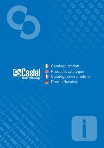 Catalogo prodotti Products catalogue Catalogue des produits Produktkatalog