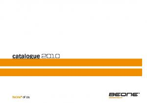 catalogue 2010 BeOne of Us