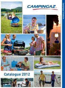 Catalogue Campingaz Products