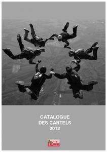 CATALOGUE DES CARTELS