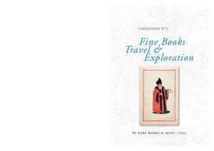 catalogue n 2 Fine Books Travel & Exploration
