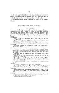CATALOGUE OF THE LIBKAKY. I. JOURNALS