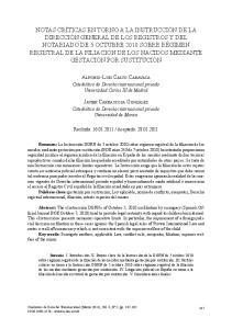 Catedrático de Derecho internacional privado Universidad Carlos III de Madrid. Catedrático de Derecho internacional privado Universidad de Murcia