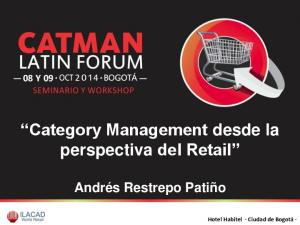 Category Management desde la perspectiva del Retail
