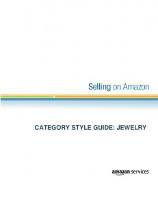 CATEGORY STYLE GUIDE: JEWELRY