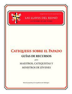 Catequesis sobre el Papado