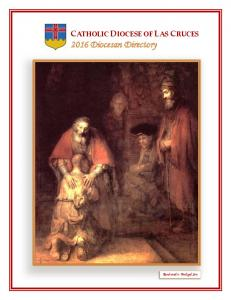 CATHOLIC DIOCESE OF LAS CRUCES 2016 Diocesan Directory