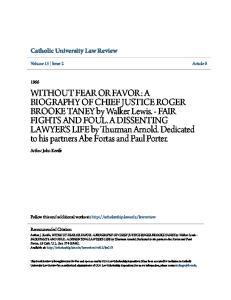 Catholic University Law Review