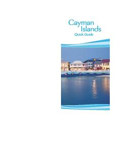 Cayman Islands. Quick Guide