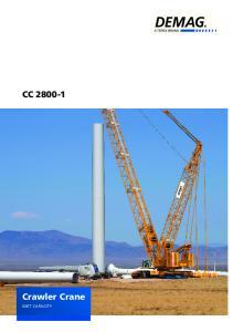 CC Crawler Crane