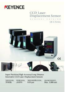 CCD Laser Displacement Sensor