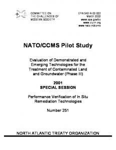 CCMS Pilot Study