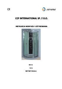 CCP INTERNATIONAL SP. Z O.O