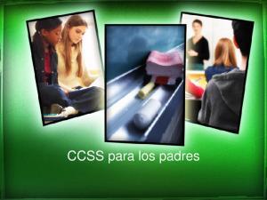 CCSS para los padres