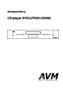CD-player EVOLUTION CD3NG