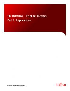 CD ROADM Fact or Fiction