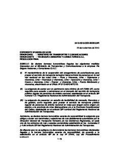 CEB-INDECOPI. 22 de noviembre de 2013