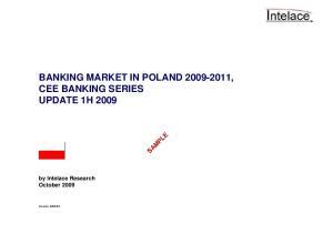 CEE BANKING SERIES UPDATE 1H 2009