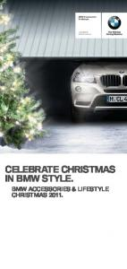 CELEBRATE CHRISTMAS IN BMW STYLE