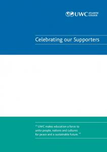 Celebrating our Supporters