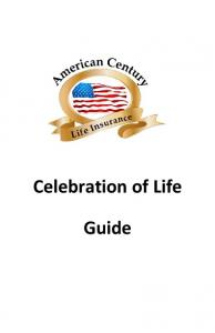 Celebration of Life Guide