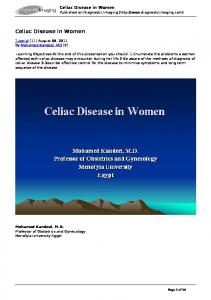 Celiac Disease in Women