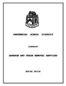 CENTENNIAL SCHOOL DISTRICT