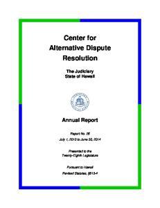 Center for Alternative Dispute Resolution