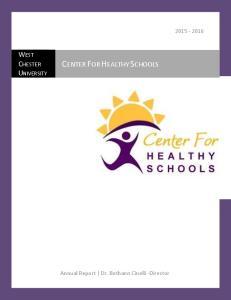 CENTER FOR HEALTHY SCHOOLS