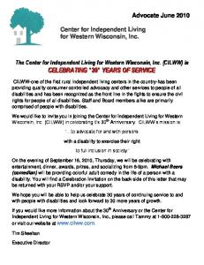 Center for Independent Living for Western Wisconsin, Inc
