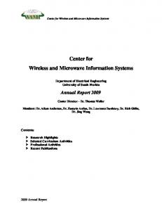Center for Wireless and Microwave Information Systems