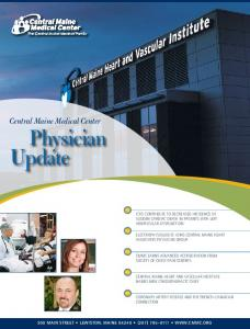 Central Maine Medical Center Physician Update