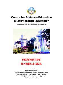 Centre for Distance Education