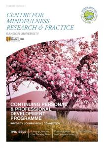 CENTRE FOR MINDFULNESS RESEARCH & PRACTICE
