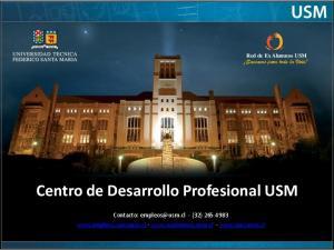 Centro de Desarrollo Profesional USM