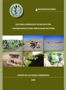 CENTRO DE LECCIONES APRENDIDAS