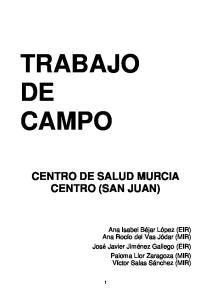 CENTRO DE SALUD MURCIA CENTRO (SAN JUAN)