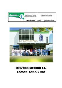 CENTRO MEDICO LA SAMARITANA LTDA