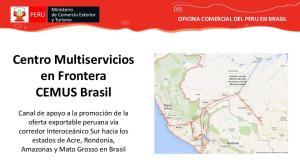 Centro Multiservicios en Frontera CEMUS Brasil