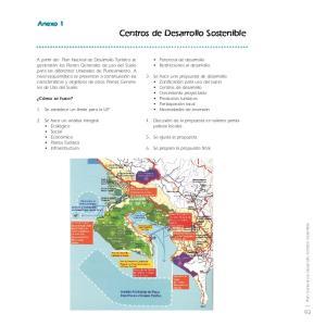 Centros de Desarrollo Sostenible