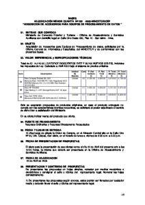 CEP ADQUISICION DE ACCESORIOS PARA EQUIPOS DE PROCESAMIENTO DE DATOS