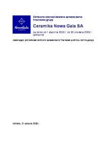 Ceramika Nowa Gala SA