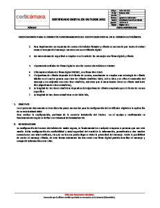 CERTIFICADO DIGITAL EN OUTLOOK 2002