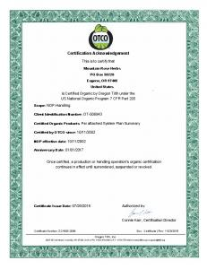 Certification Acknowledgement