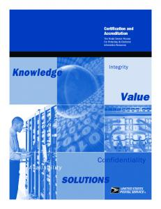 Certification and Accreditation Certification and Accreditation