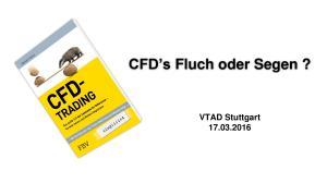 CFD s Fluch oder Segen? VTAD Stuttgart