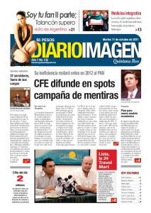 CFE difunde en spots campaña de mentiras