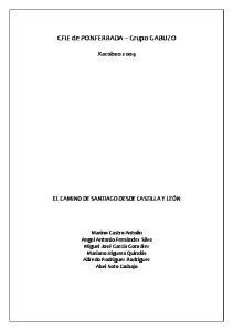 CFIE de PONFERRADA Grupo GABUZO