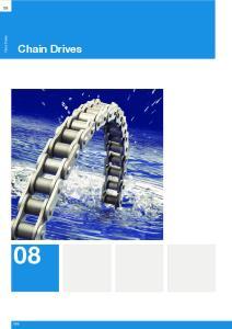 Chain Drives. Chain Drives